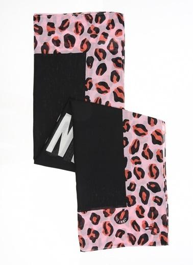 Tommy Hilfiger Kadın Tjw Leopard Scarf Atkı AW0AW07035 Siyah